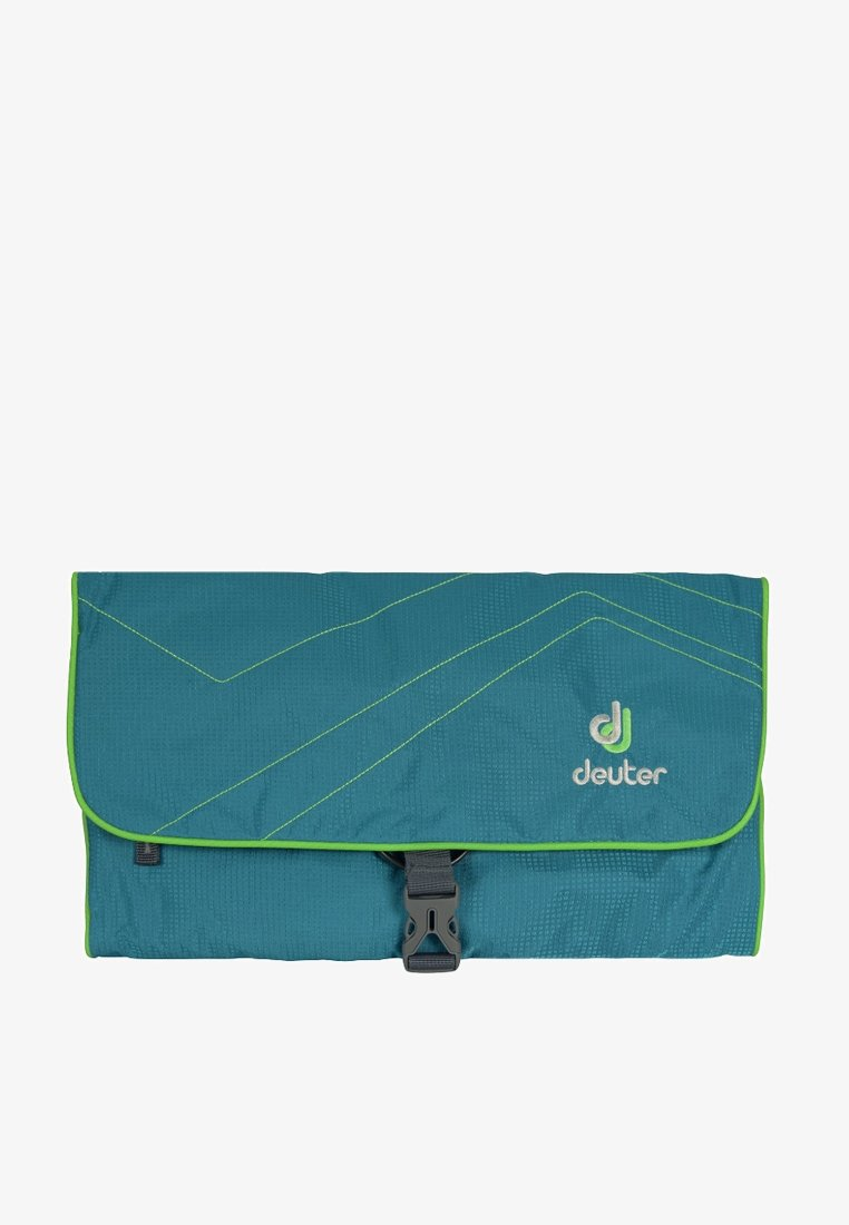Deuter - WASH BAG II - Wash bag - petrol/kiwi
