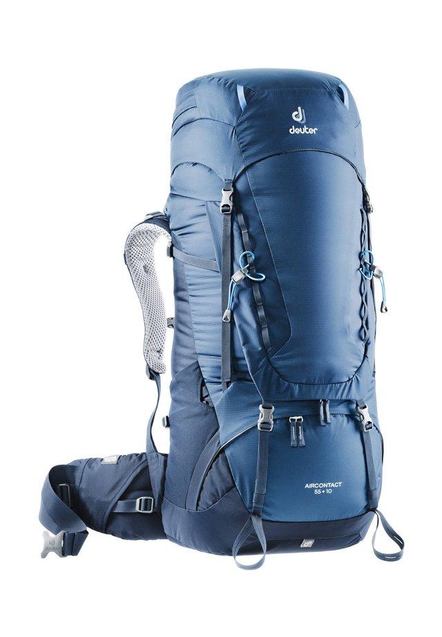 "DEUTER TREKKINGRUCKSACK ""AIRCONTACT 55 + 10"" - Hiking rucksack - blue"