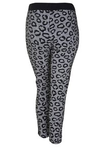 DORIS STREICH - MIT MUSTERMIX - Pantalon de survêtement - black/white
