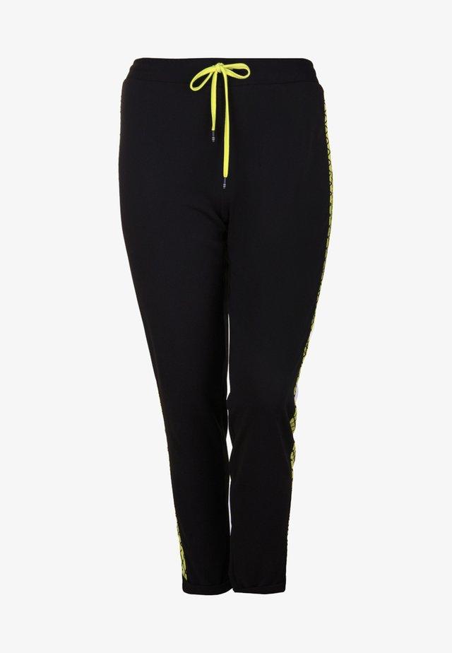 Pantaloni sportivi - neon yellow