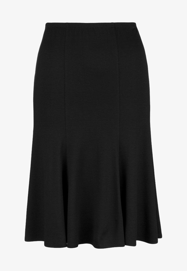 DORIS STREICH - Pleated skirt - schwarz