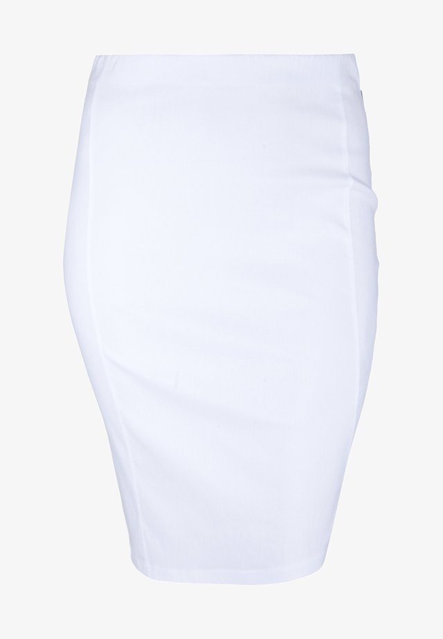 Pencil skirt - weiß