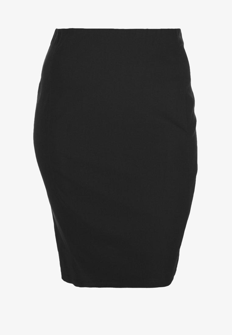 DORIS STREICH - Jupe crayon - black