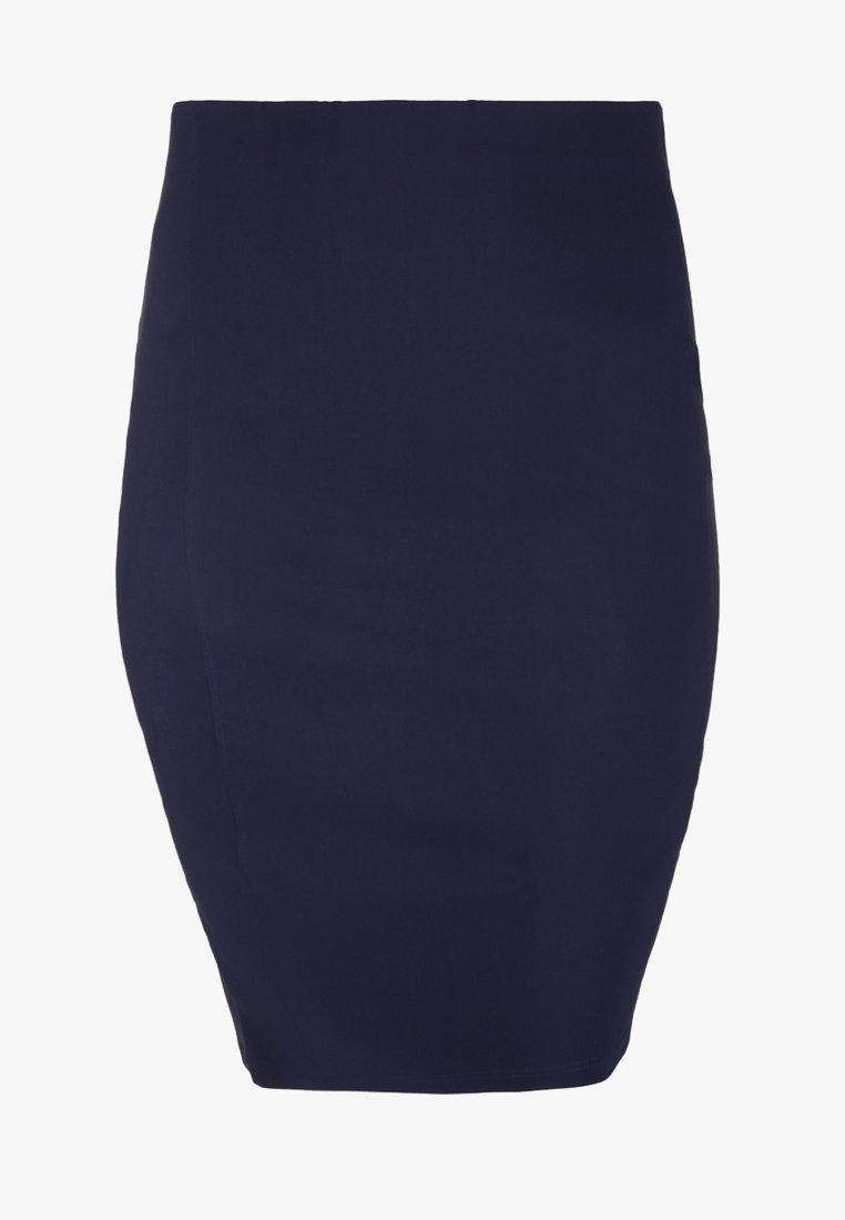 DORIS STREICH - Pencil skirt - dark blue