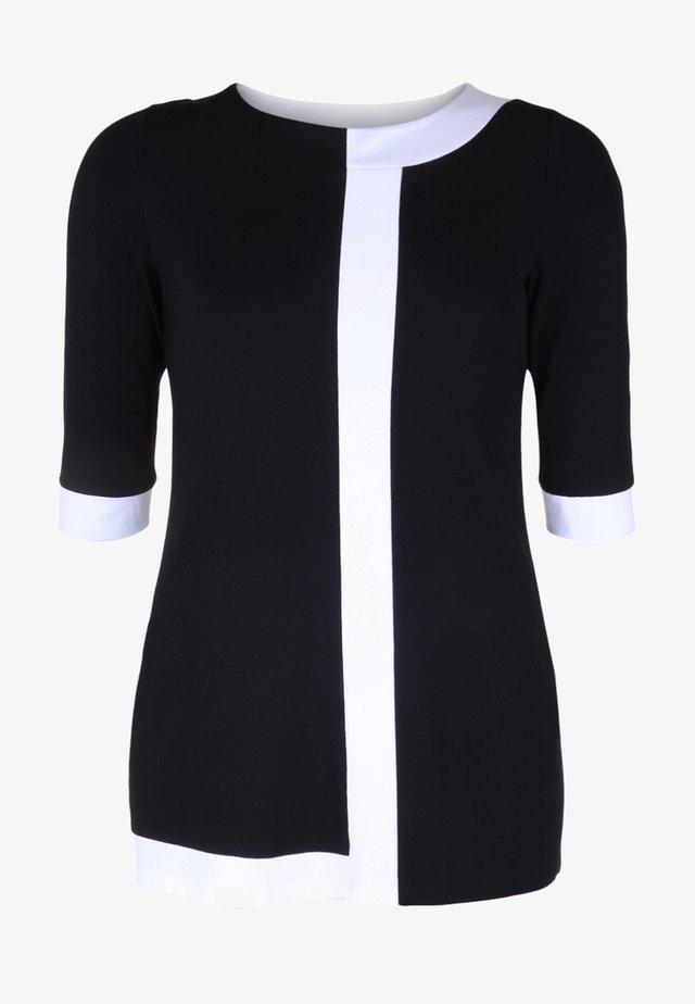 Tunika - black/white