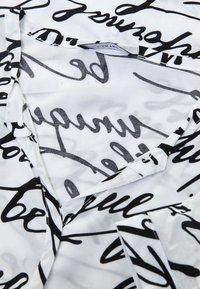 DORIS STREICH - MIT WORDING-PRINT - Blouse - off-white - 3