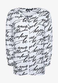 DORIS STREICH - MIT WORDING-PRINT - Blouse - off-white - 0