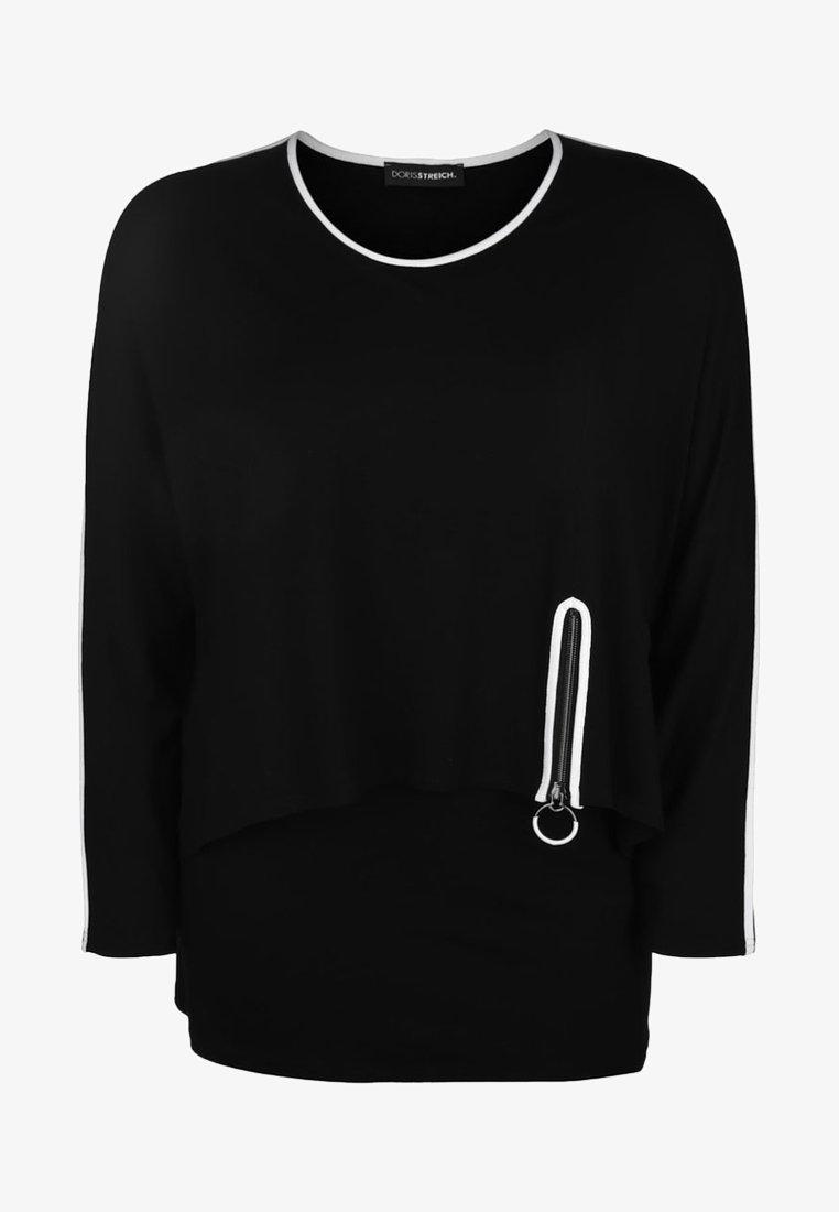 DORIS STREICH - DORIS  - Blouse - black/white