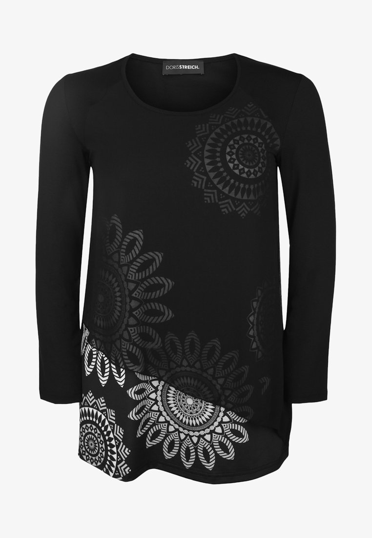 DORIS STREICH - Tunic - black/white