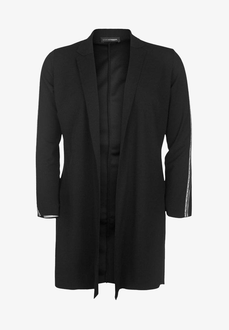 DORIS STREICH - MIT GLITZERSTREIFEN - Short coat - black