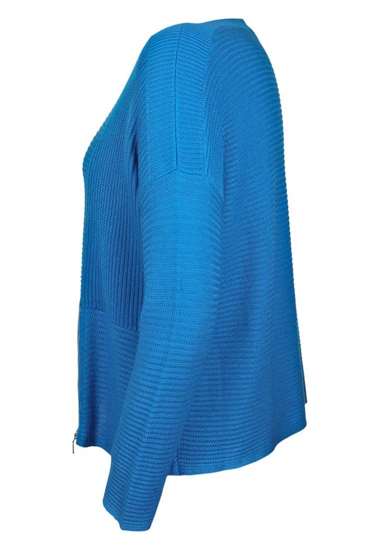 Doris Streich Doris RundhalsausschnittPullover Mit Streich Blue Mit RundhalsausschnittPullover R3A4jc5Lq