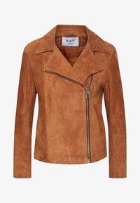 DAY Birger et Mikkelsen - DAY HARBOUR - Leather jacket - topaz - 5