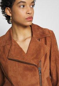 DAY Birger et Mikkelsen - DAY HARBOUR - Leather jacket - topaz - 6