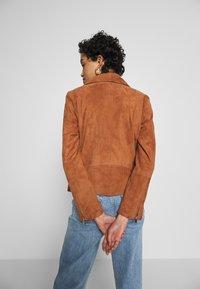 DAY Birger et Mikkelsen - DAY HARBOUR - Leather jacket - topaz - 2