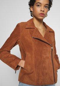 DAY Birger et Mikkelsen - DAY HARBOUR - Leather jacket - topaz - 3