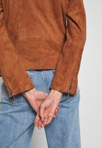DAY Birger et Mikkelsen - DAY HARBOUR - Leather jacket - topaz - 4