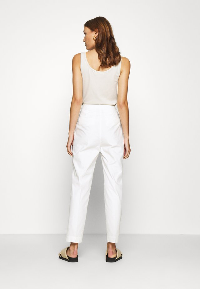 CASUAL - Trousers - white fog