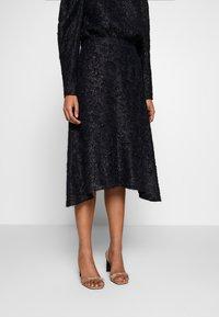 DAY Birger et Mikkelsen - DAY START AGAIN - A-line skirt - navy blazer - 0