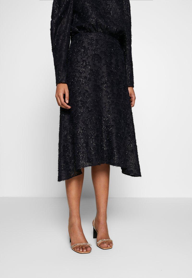 DAY Birger et Mikkelsen - DAY START AGAIN - A-line skirt - navy blazer