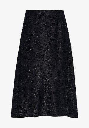 DAY START AGAIN - Áčková sukně - navy blazer