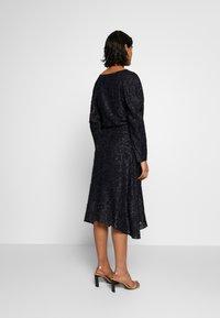 DAY Birger et Mikkelsen - DAY START AGAIN - A-line skirt - navy blazer - 2