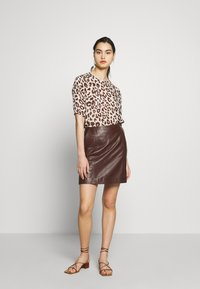 DAY Birger et Mikkelsen - BALDIZI - A-line skirt - bean - 1