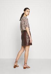 DAY Birger et Mikkelsen - BALDIZI - A-line skirt - bean - 2