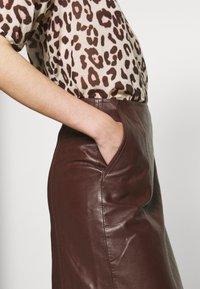 DAY Birger et Mikkelsen - BALDIZI - A-line skirt - bean - 4