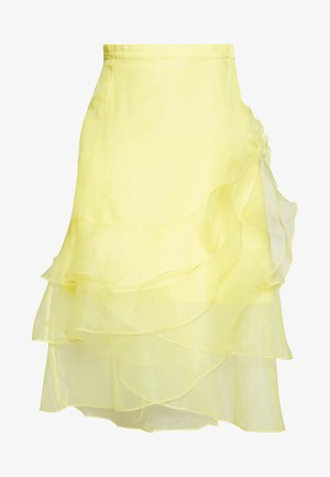 DAY FAIRY - A-line skirt - sulphur