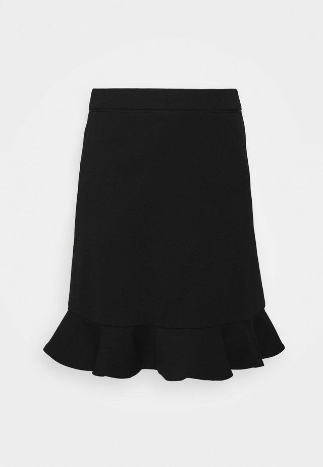 CIKADE - A-linjainen hame - black