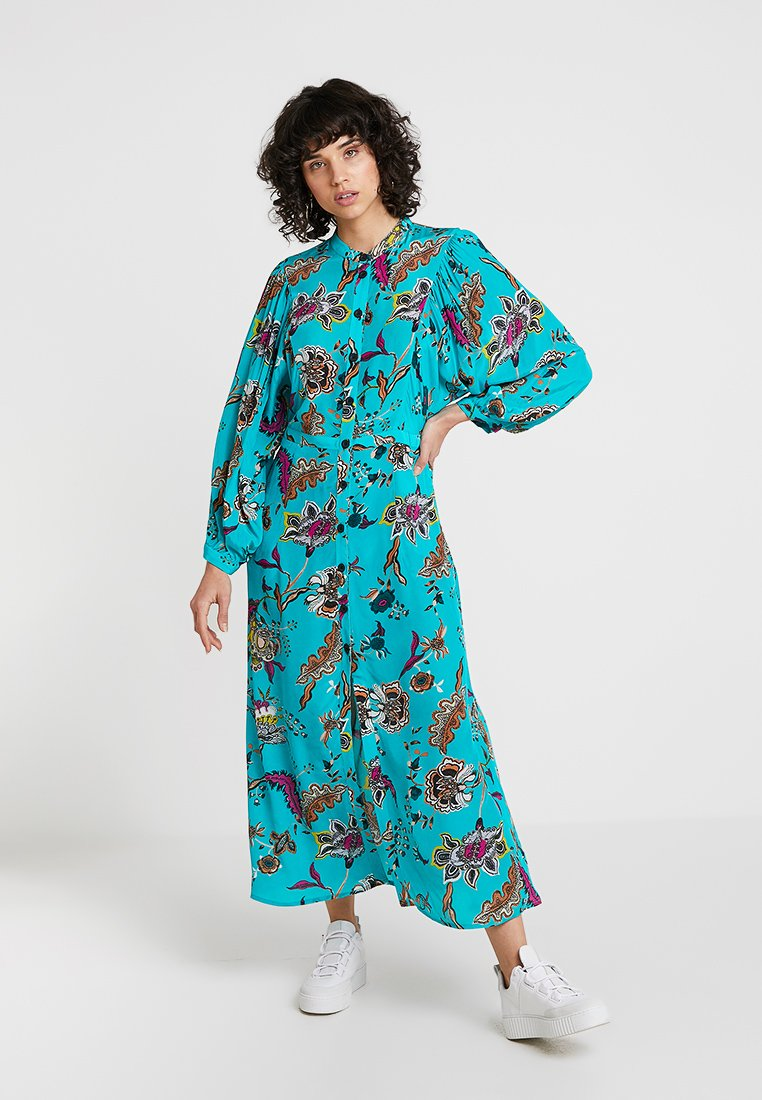 DAY Birger et Mikkelsen - IRIS - Maxi dress - turchese