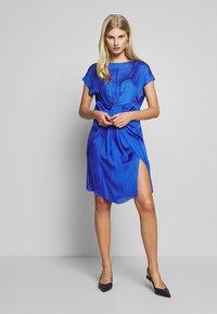 DAY Birger et Mikkelsen - DAY LAKE - Day dress - blue - 1