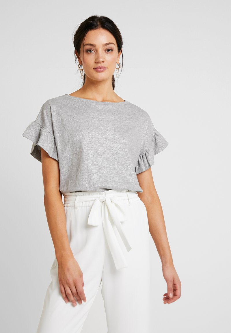 DAY Birger et Mikkelsen - DAY FLASHES - Print T-shirt - medium grey