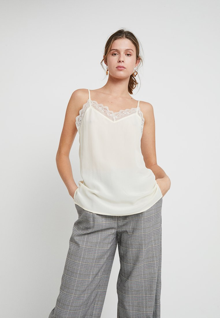 DAY Birger et Mikkelsen - DAY NEW FANNAH - Top - ivory shade