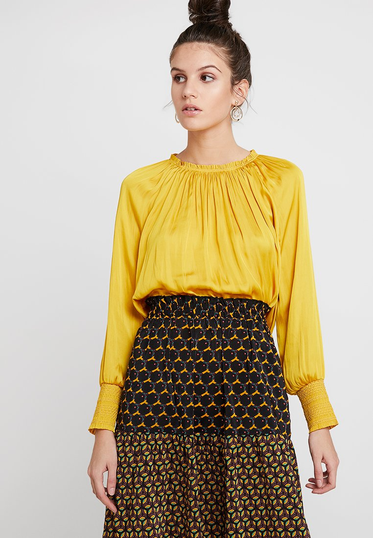 DAY Birger et Mikkelsen - DAY MARIGOLD - Blouse - lemon curry