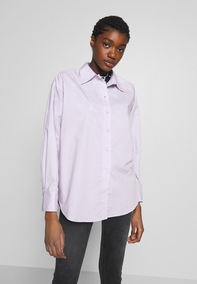 BARCA - Button-down blouse - orchid petal