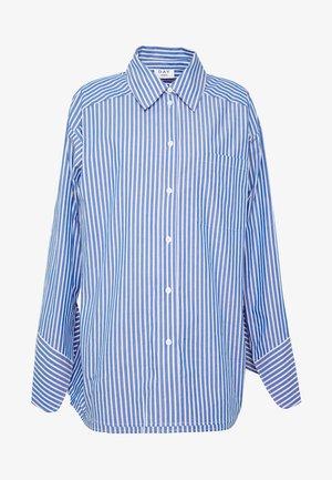 SPRINGTIME - Button-down blouse - navy blazer