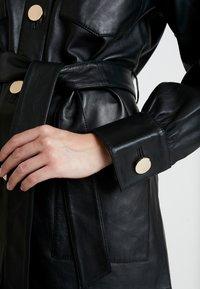 DAY Birger et Mikkelsen - SCILLA - Leather jacket - black - 5