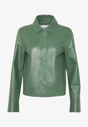 DAY FRESH - Leather jacket - greener pastures