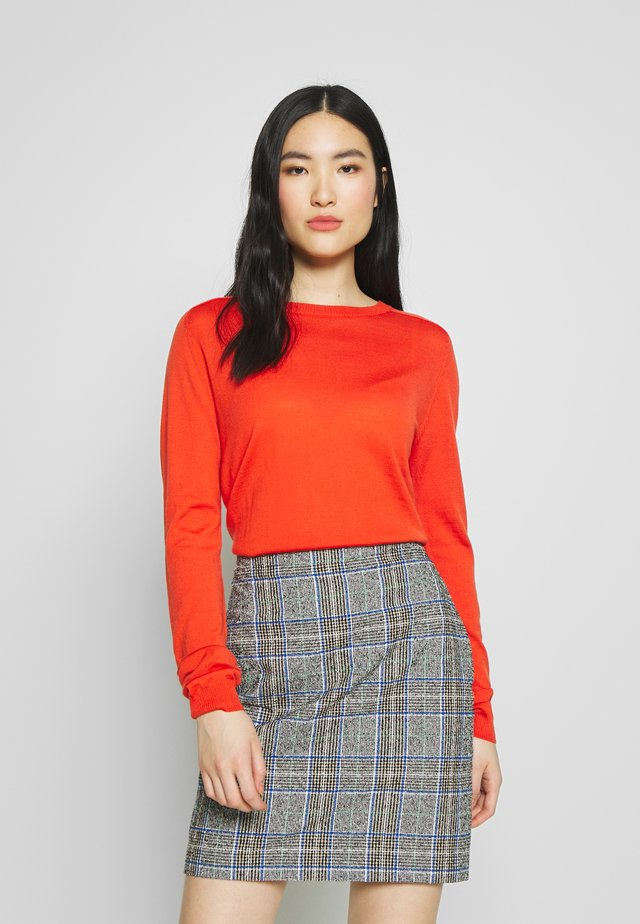 DAY WHITNEY - Jumper - laque red