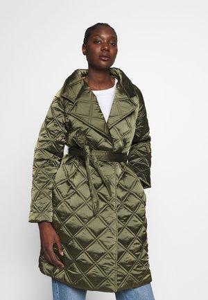 ACQUA - Classic coat - kahki