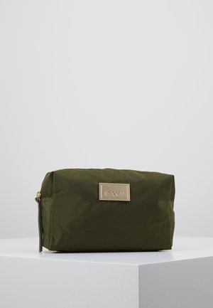 DAY LUXE BEAUTY - Wash bag - ivy green