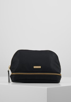 DAY DOUBLE ZIP COSMETIC EXTRA - Toalettmappe - black