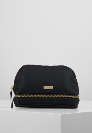 DAY DOUBLE ZIP COSMETIC EXTRA - Kosmetická taška - black