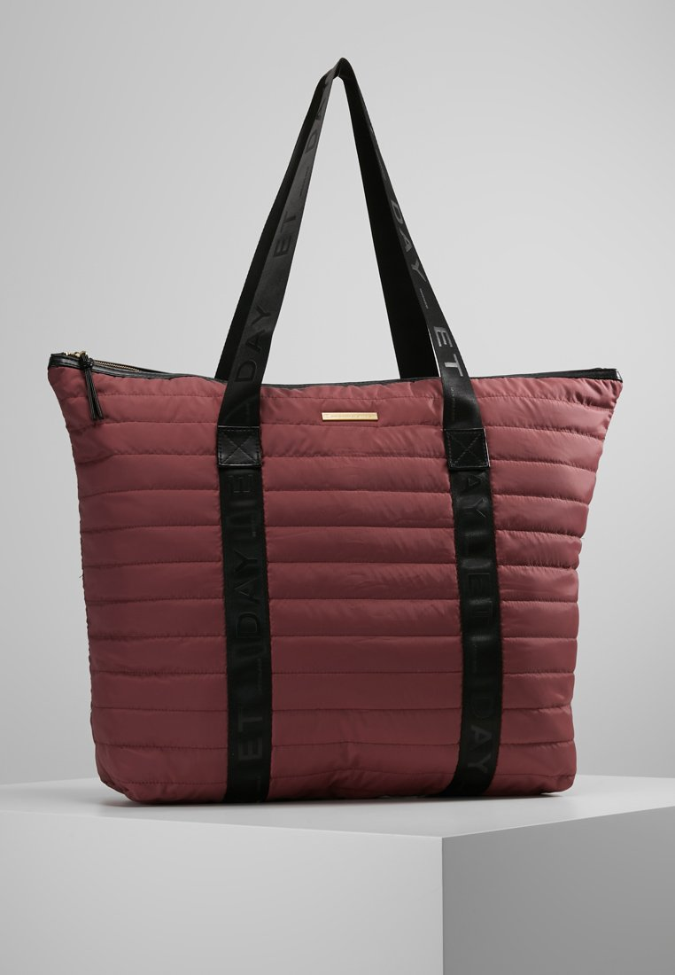 DAY Birger et Mikkelsen - PUFFER BAG - Shopping bag - rouge blush