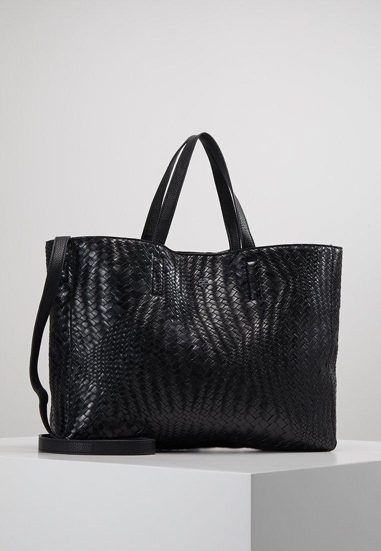 DAY Birger et Mikkelsen - PLAITING TOTE - Handbag - black