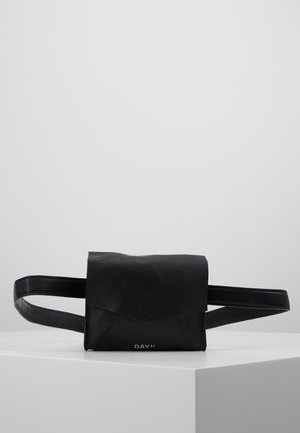 SHINE BELT BAG - Rumpetaske - black