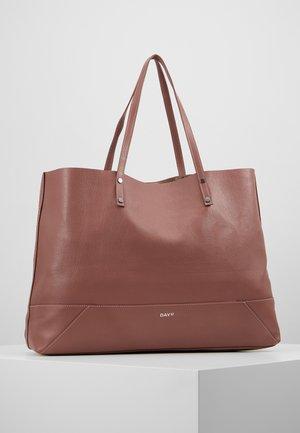 DAY SHINE SHOPPER - Shopping Bag - rose taupe