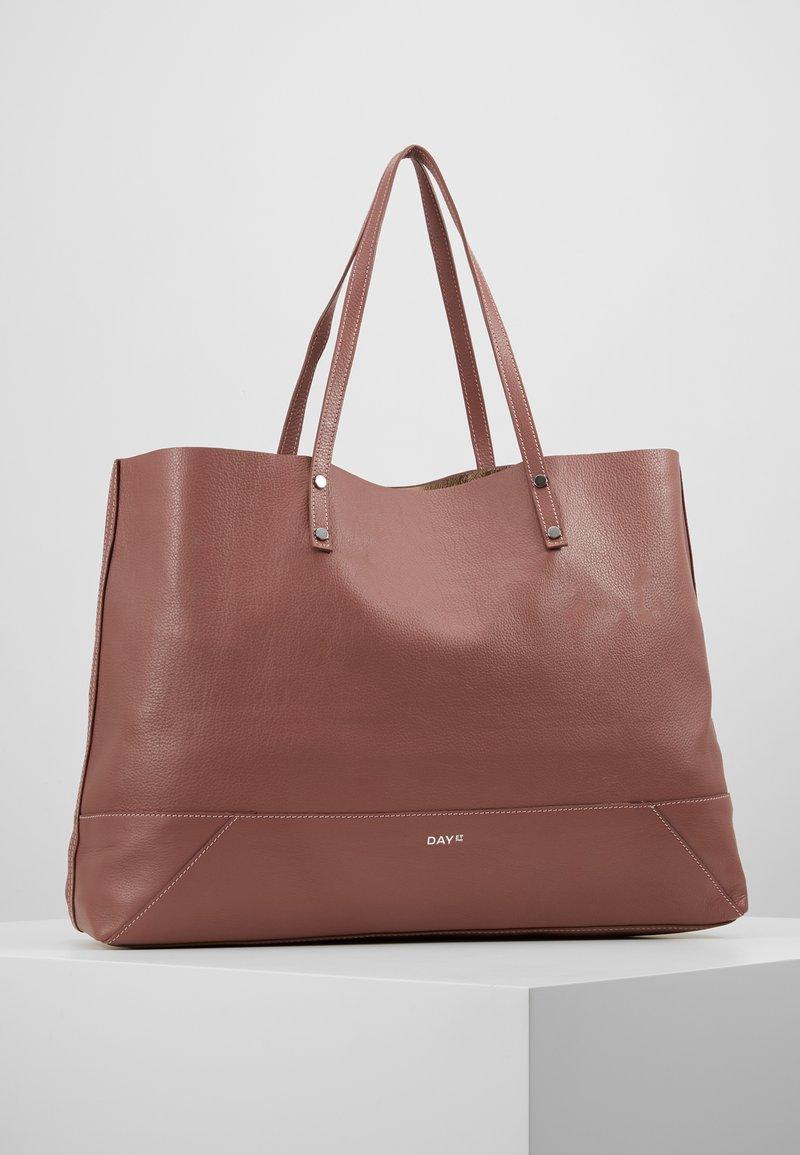DAY Birger et Mikkelsen - DAY SHINE SHOPPER - Shopping Bag - rose taupe