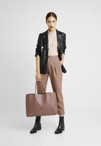 DAY Birger et Mikkelsen - DAY SHINE SHOPPER - Shopping Bag - rose taupe - 1